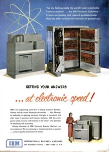 IBM Werbung für ihren neuen Computer
