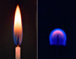 Kerze auf der Erde und im All - NASA.gov