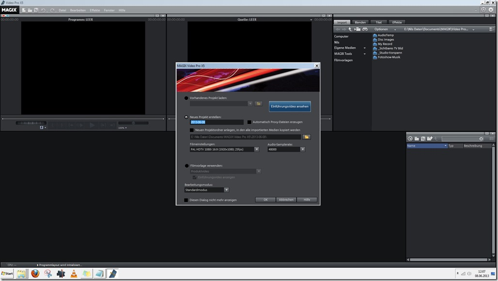 Screenshot MAGIX Video Pro X5 13-06-08_12-07-58