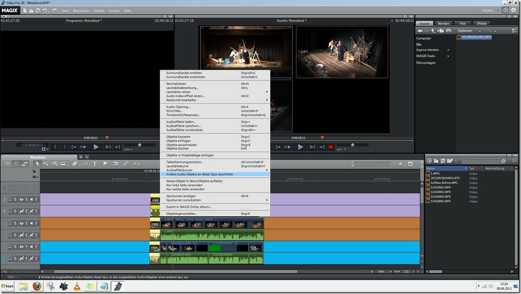 Screenshot MAGIX Video Pro X5 13-06-08_13-19-47