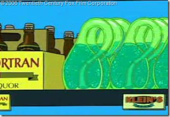 Klein Bottles from Futurama